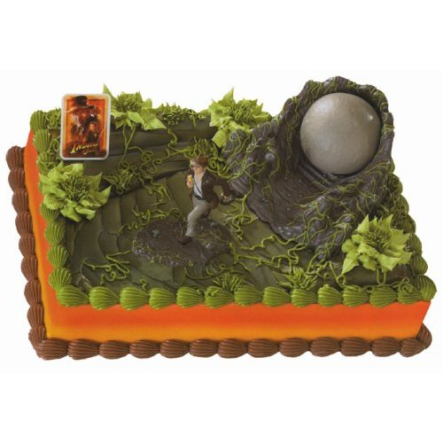 Indiana Jones Cake Topper Kit