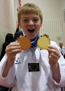 CB won two medals